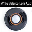 white balance lens cap