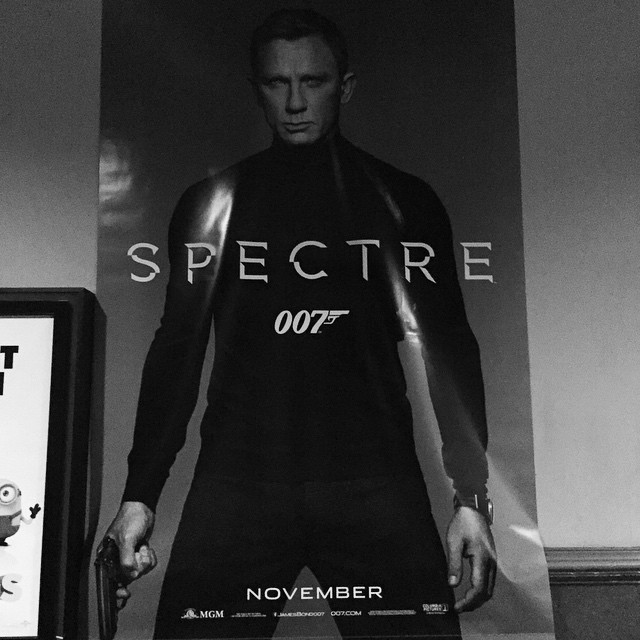 This makes me just a little bit giddy #spectre