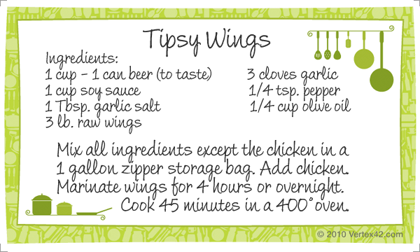 Tipsy Wings