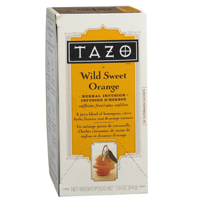 Tazo Wild Sweet Orange