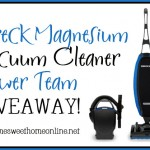 The Oreck Magnesium Vacuum Giveaway: Because Photoshop Can't Clean Your Carpets in Real Life