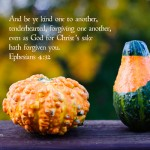 31 Days of Killer Quotes {day 2}: Ephesians 4:32 & an October Desktop Calendar