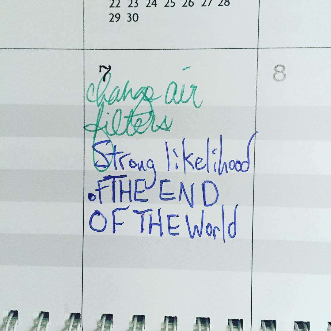 Saw this on the 7th when I flipped the calendarhellip