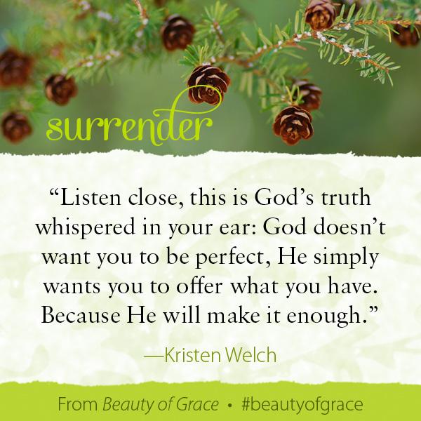 Kristen Welch The Beauty of Grace