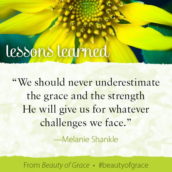 Melanie Shankle The Beauty of Grace