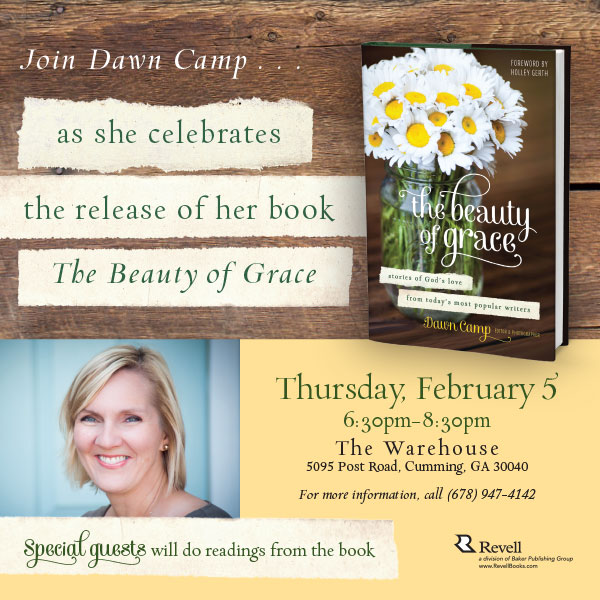 Beauty of Grace book launch party