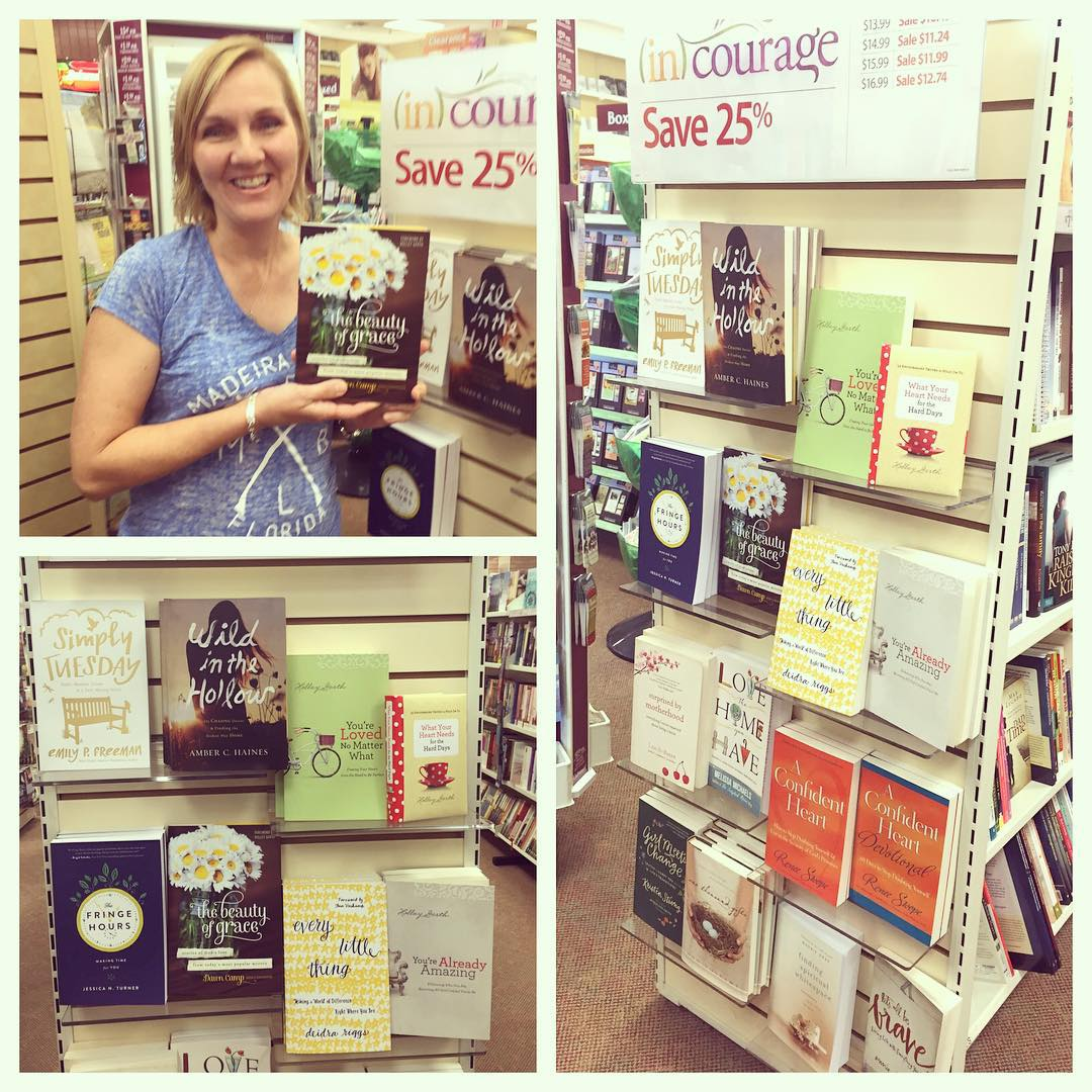 Love the incourage display lifewaystores beautyofgrace